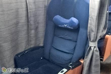 腰ラクシートで快適! 3列(2+1)シートのWILLER EXPRESS(ウィラーエクスプレス)「ニュープレミアム」