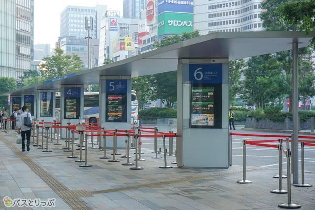 JR東京駅八重洲南口 JR高速バスのりば