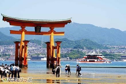 広島駅から日本三景「安芸の宮島」までの3つのアクセスルート! JR・広島電鉄(路面電車)&フェリー・高速船での行き方は?