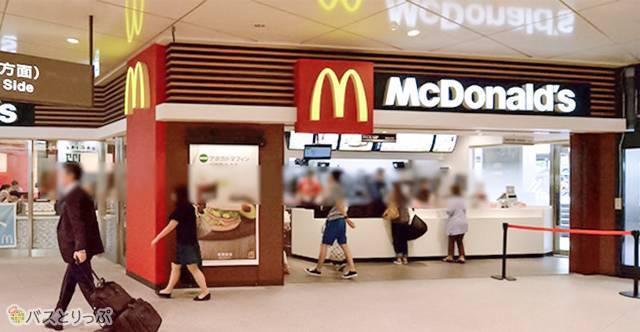 5:30から開いてる「マクドナルド」は神対応もの(京都駅周辺の便利スポット)