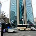 地下鉄御堂筋線中津駅から徒歩3分。ホテル阪急インターナショナルの横(大阪駅周辺バスターミナルガイド)