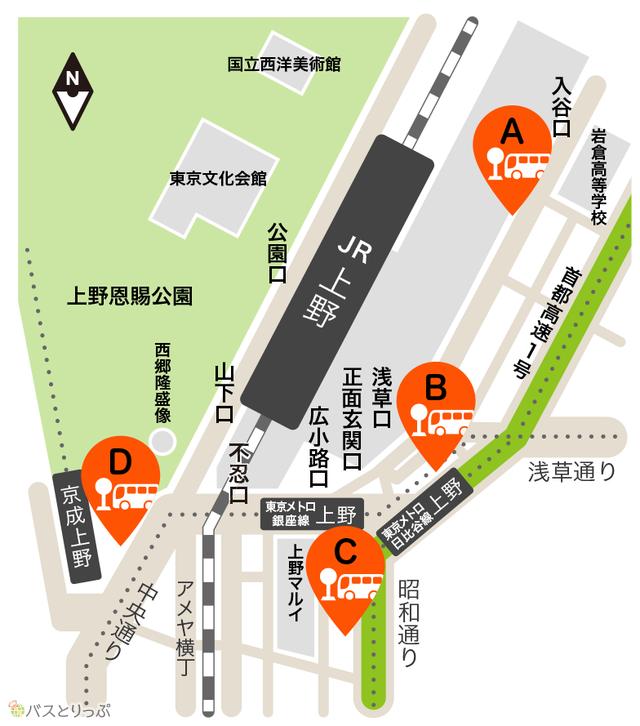 上野駅周辺の高速バスターミナル.png