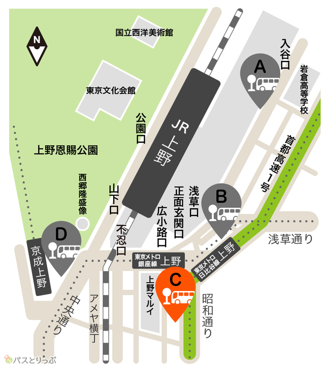 上野駅前 高速バス乗り場.png