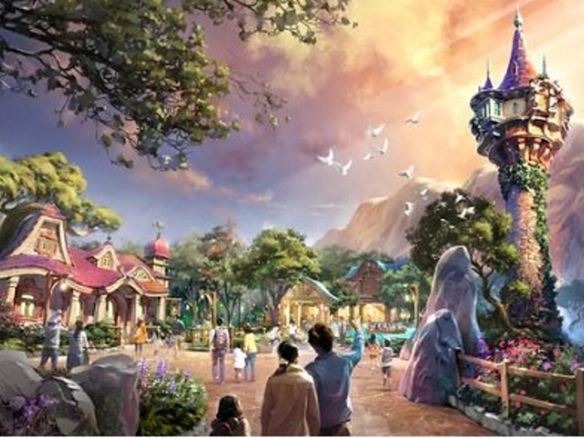 2022年度、東京ディズニーシーに新テーマポート 「魔法の泉が導く