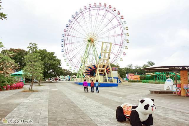 「国営ひたち海浜公園」プレジャーガーデンのアトラクションは小さな子どもでも楽しめる