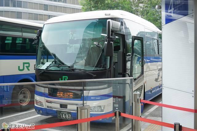JRバス関東運行の「高速みと号」車両