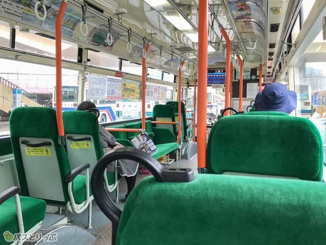 茨城交通・路線バス車内