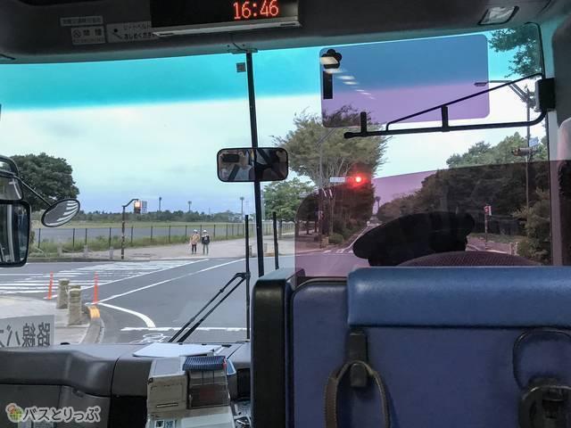 「勝田・東海線」車内からの眺め