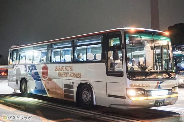 茨城交通の高速バス車両