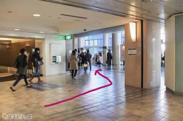渋谷エクセルホテル東急を迂回