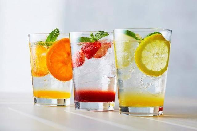 インスタに上げたい! オレンジ・イチゴ・レモンのスパーク