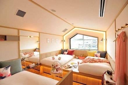 女性専用の宿泊施設「CAFETEL 京都三条」7/2にオープン! 3人個室 or ドミトリーでひとり旅でも利用しやすい