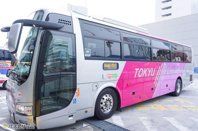 東急トランセ運行の羽田空港発・渋谷行きリムジンバス