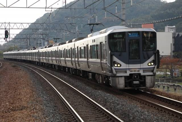 JR東海道山陽本線 新快速