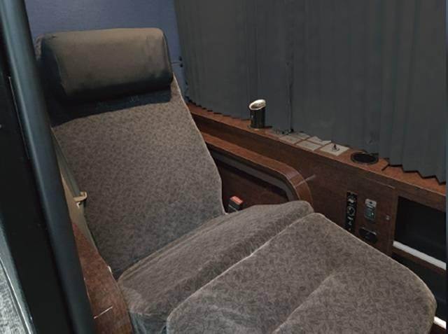 ドリームスリーパーの快適なシート