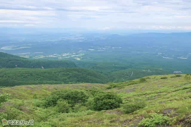 那須高原を眼下に見渡す