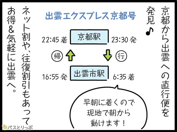 京都から出雲への直行便を発見♪ネット割りや、往復割もあって、お得&気軽に出雲へ。