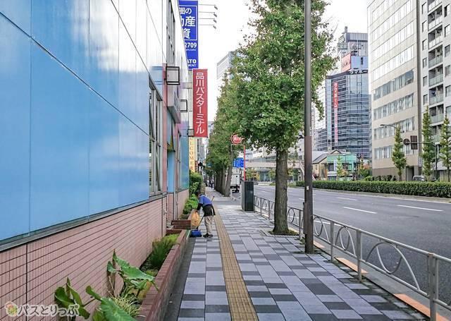 品川バスターミナル 泉岳寺側.jpg