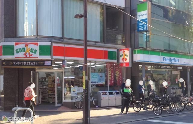 上野駅入谷口のコンビニ.jpg