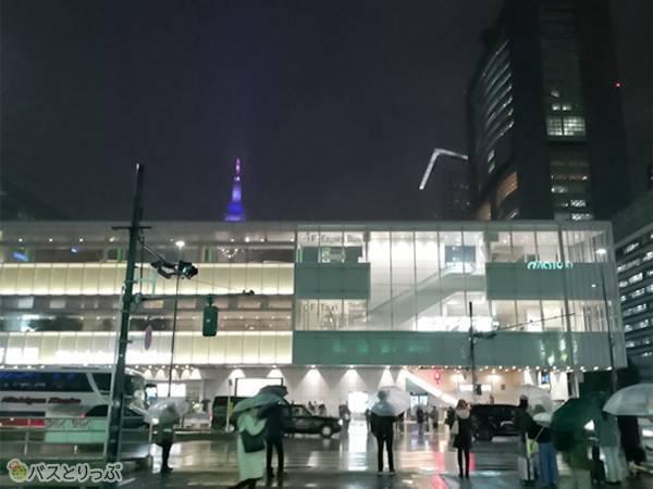おなじみバスタ新宿