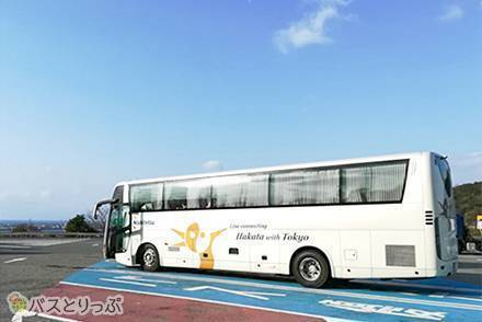 みんなの憧れ! 東京~博多豪華夜行バス「はかた号」に乗車! ビジネスシート最後尾の女性専用席はシートが倒しやすーーい