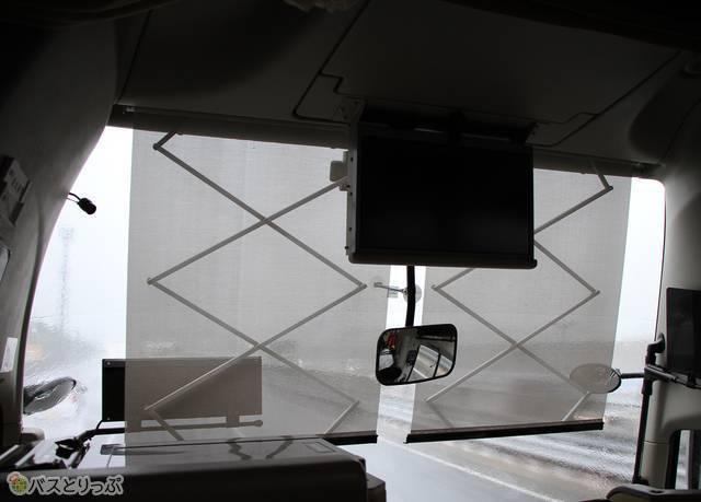 熊本県に入ると前が見えない程の雨の降り方に