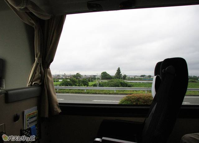 のどかな風景を眺めながらバスは一路延岡へ