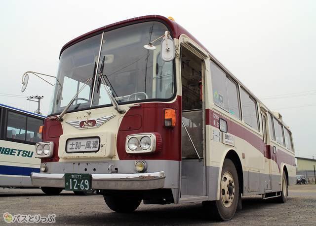 士別軌道「モノコックバス」の外観