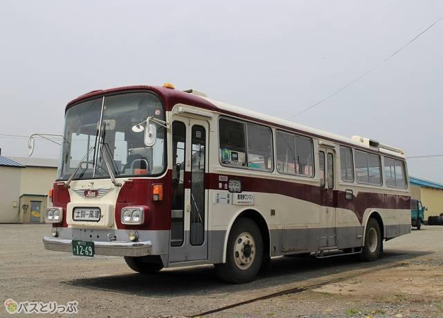 士別軌道の「モノコックバス」