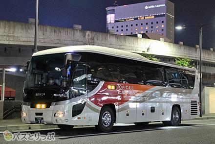 車内トイレが使いやすい理由とは? 東北急行バスの快適3列独立シート「ルブラン号」で東京→岡山へ