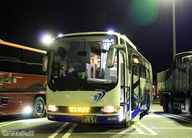 さくら観光バス「ミルキーウェイエクスプレス」CJ305便 1551_17 佐野SA_05.jpg