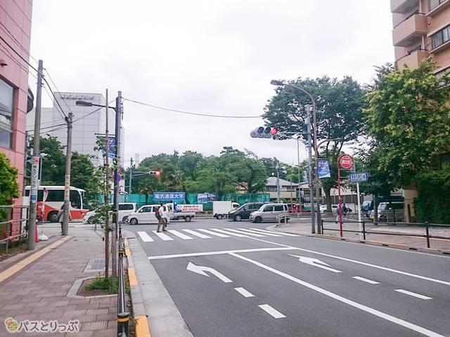 深大寺BT 甲州街道T字路