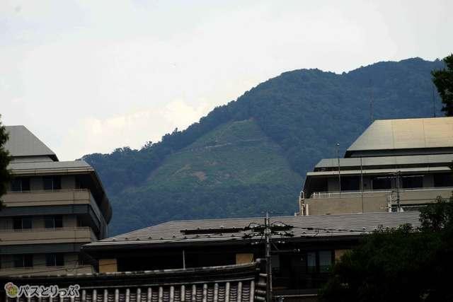 夏の京都を代表する大文字焼き