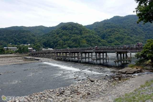 嵐山で観光フリータイム