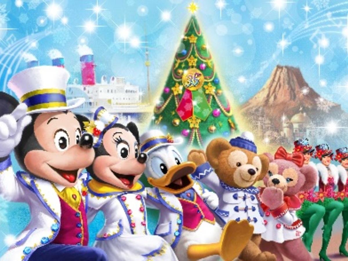 東京ディズニーシーのクリスマスツリーが巨大すぎる! 2018年の