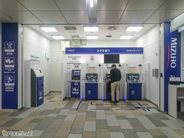 深大寺BT みずほ銀行ATM