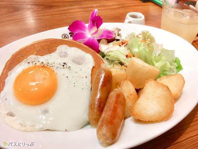 「パンケーキプレート」(税込み650円)