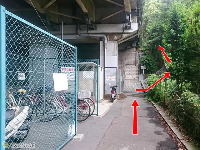 深大寺BT 「中央道深大寺」下り線バス停入口(調布駅から約2,180m)