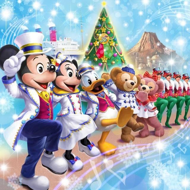 東京ディズニーシー「ディズニー・クリスマス」(c)Disney.jpg