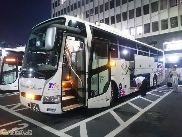 ユタカ交通の「ユタカライナー15号」