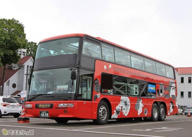 今年の北海道レストランバスに使用される1号車