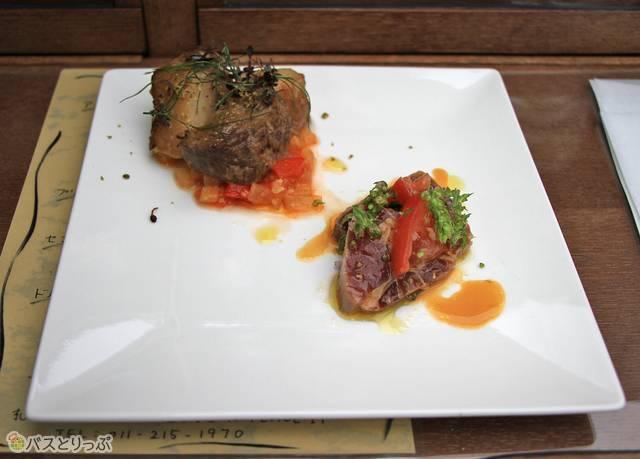 2皿目の料理(前菜 その2)