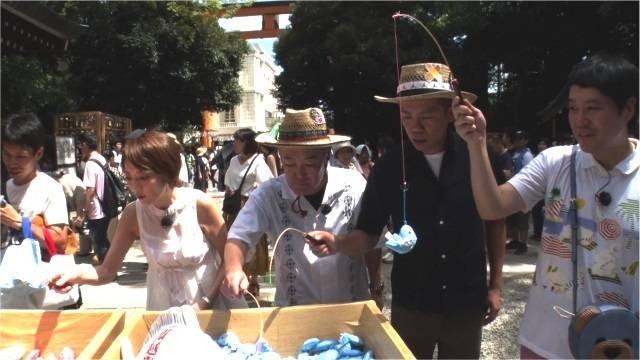 氷川神社・鯛みくじ