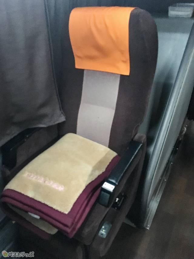 3Cの座席