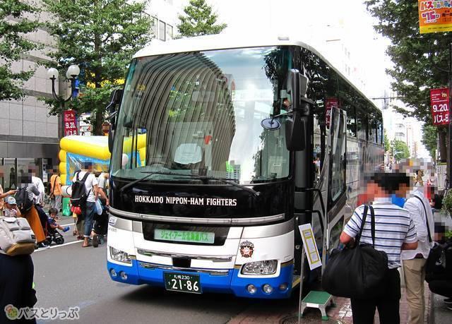 ジェイ・アール北海道バス「ファイターズ号