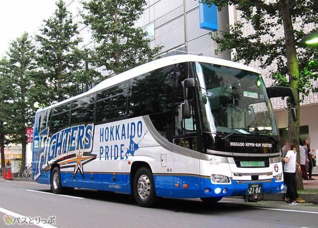 ジェイ・アール北海道バス「ファイターズ号」