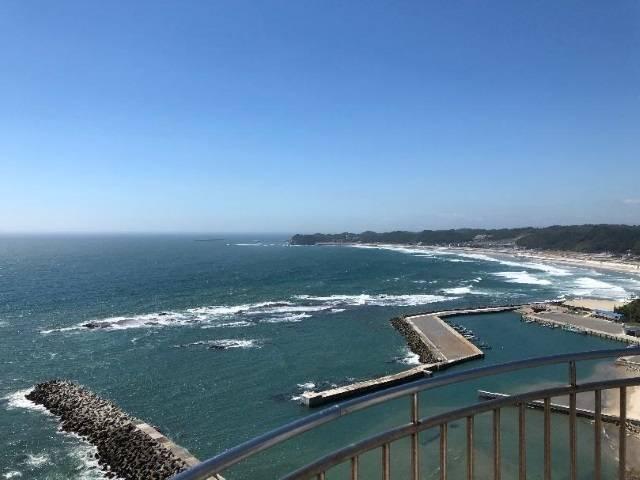 塩屋埼灯台・展望台からの眺め