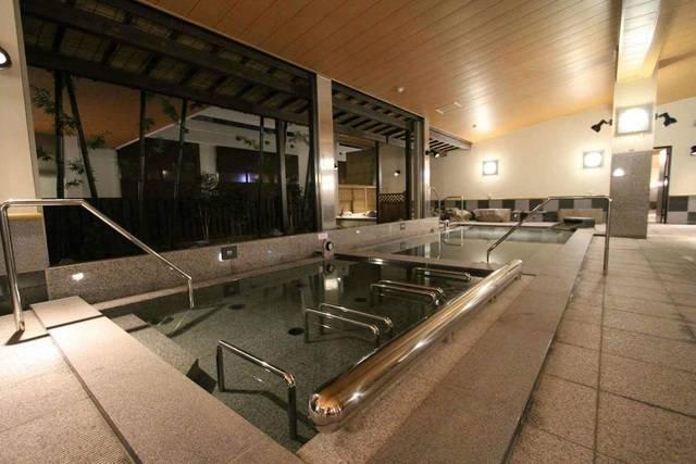 万葉倶楽部 神戸ハーバーランド温泉 大浴場