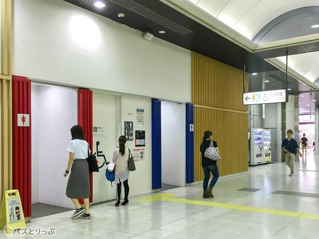 京葉線乗り場のトイレ