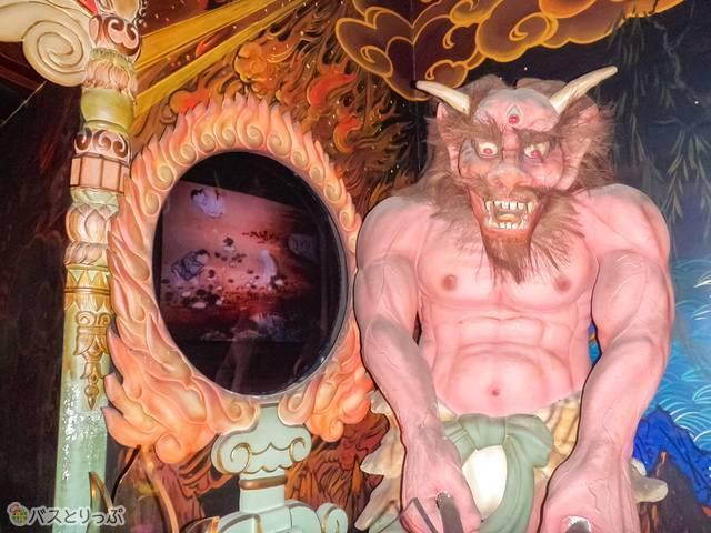 全興寺の地獄堂の鬼